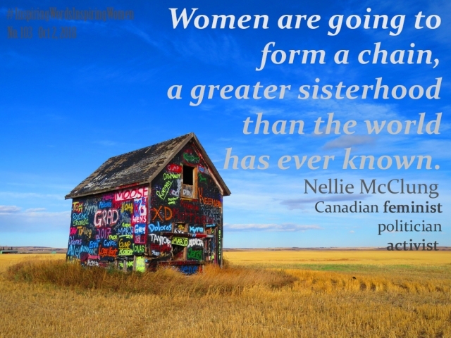 Nellie McClung quote