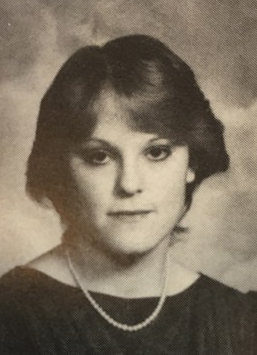 1983 yearbook photo